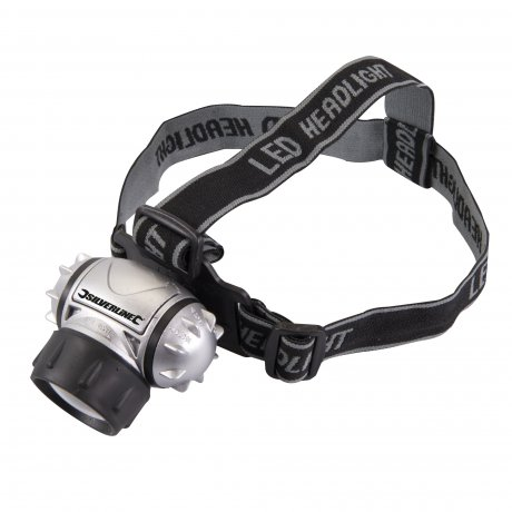 Lampe frontale crypton 6 led