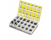 "Coffret 190 embouts + 10 porte-embouts 1/4"" STANLEY"