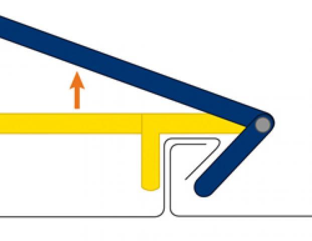Outillage de couvreur pince sertir les joints for Travail du zinc toiture
