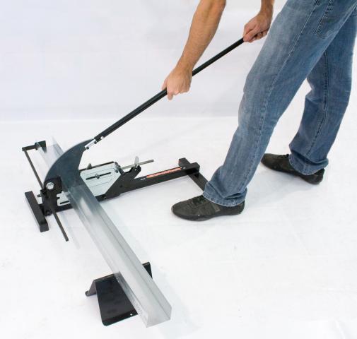 outils plaquiste et ma on guillotine sp ciale rails et. Black Bedroom Furniture Sets. Home Design Ideas
