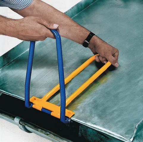 Pince larmier coud e pour sertissage sans martelage for Travail du zinc toiture